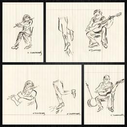 Sketches by Sylvia Dierksen