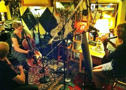 "Recording ""Little Falls"""