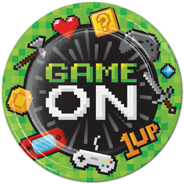 Game On Birthday Party 2 Hour Pkg #3