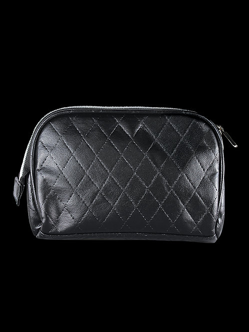 Quilted BK Beauty Pouch