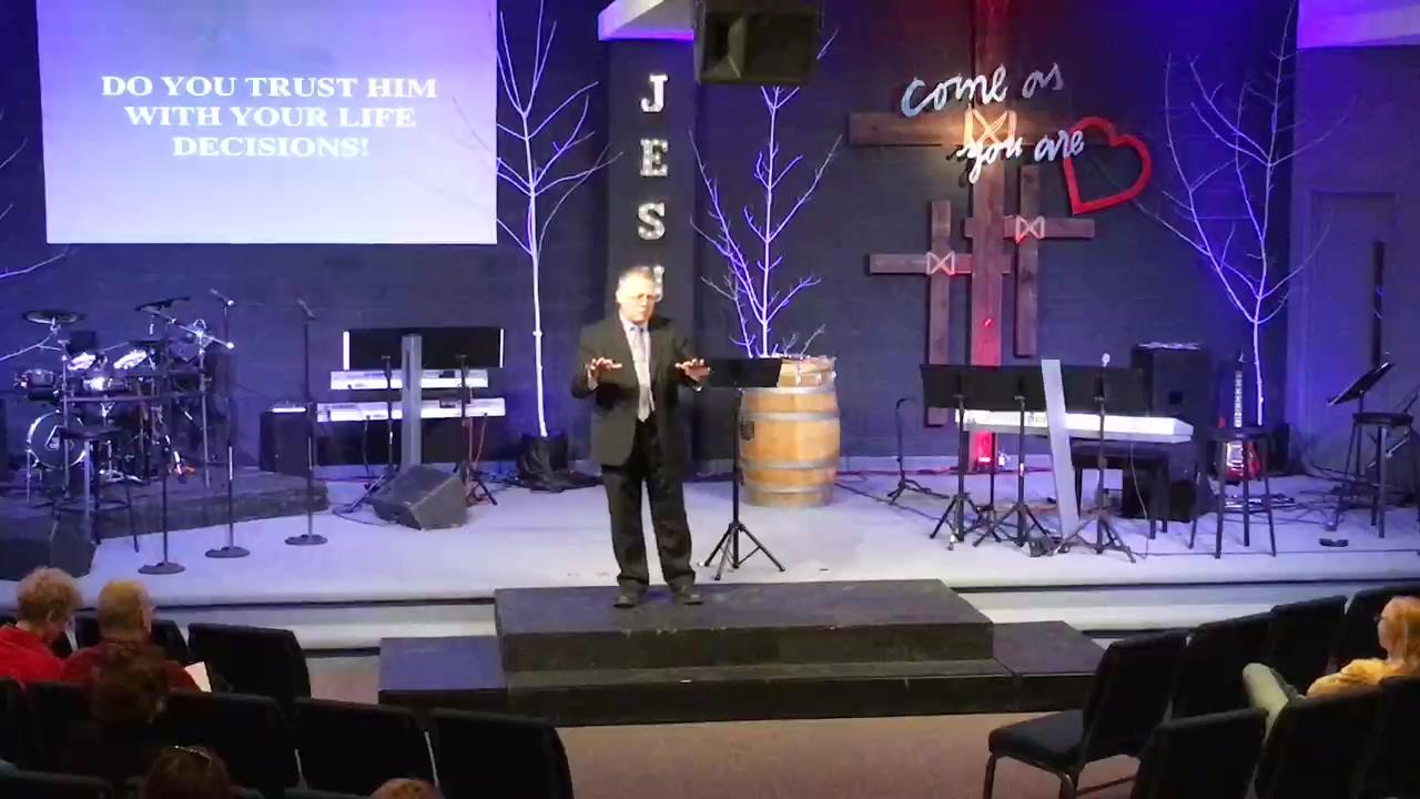 """Pastor Verne Harris - """"Faith"""""""