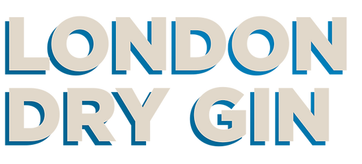 London Dry Gin Letters