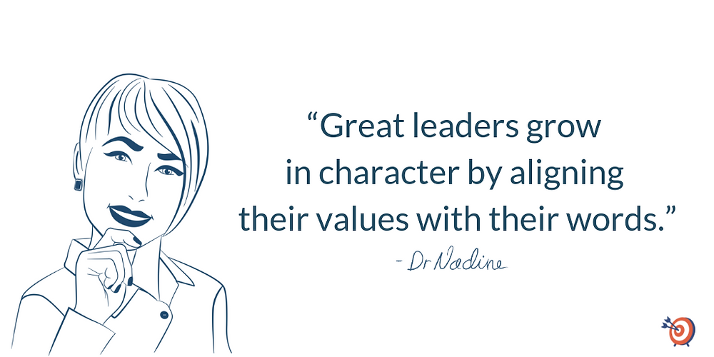 How to Communicate Authentically As A Leader, quote by Dr Nadine Greiner PhD
