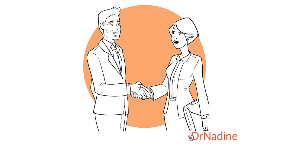 How to Make a Great First Impression in a New Job, article by Dr. Nadine Greiner PhD, Executive Consultant San Francisco.png