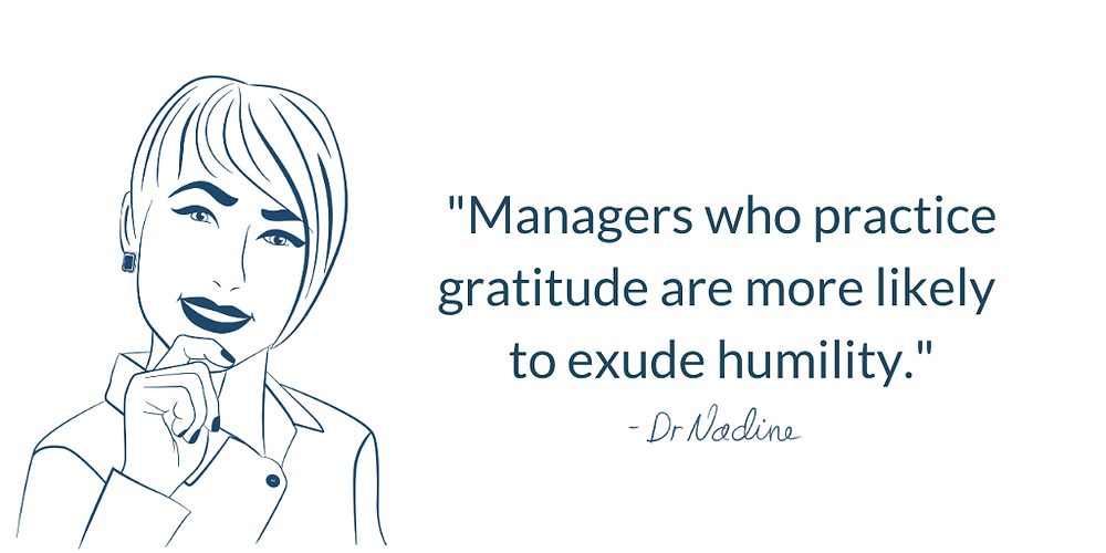3 Easy Practices In Humility Every Leader Should Try, quote by Dr Nadine Greiner PhD
