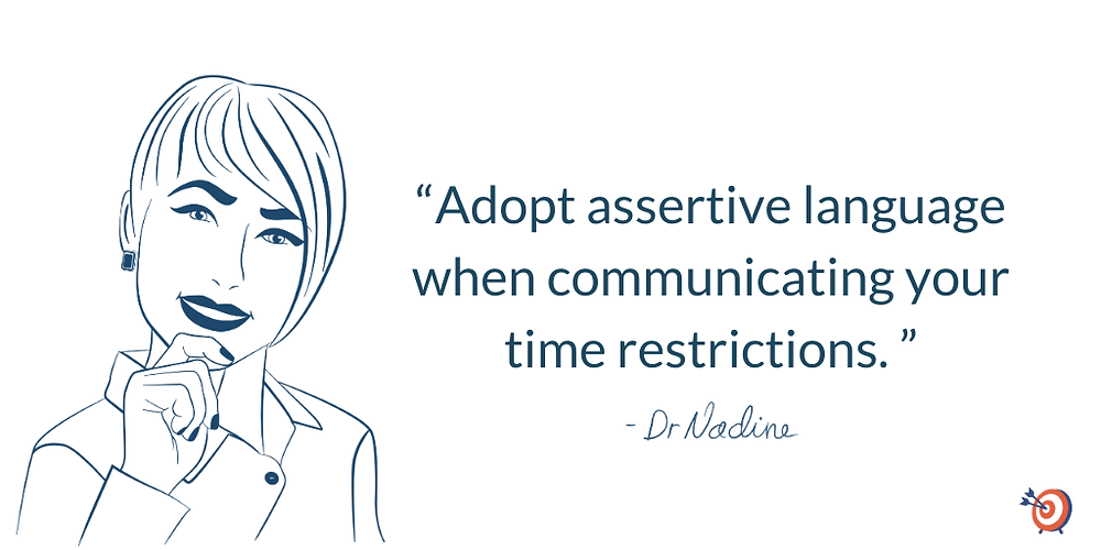 Defend Your Time And Productivity With These Valuable Tips, article by Dr Nadine Greiner PhD