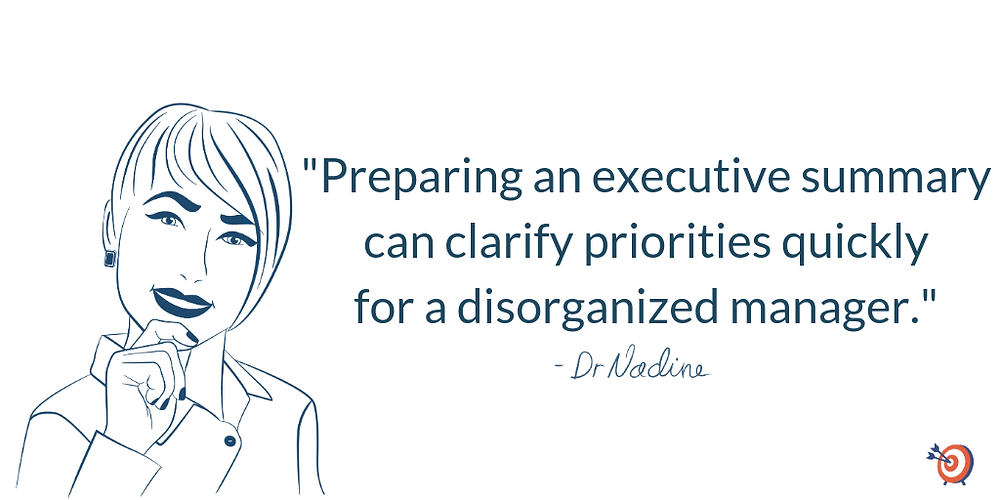 3 Ways to Manage a Deadline with a Chaotic Boss, quote by Dr Nadine Greiner PhD