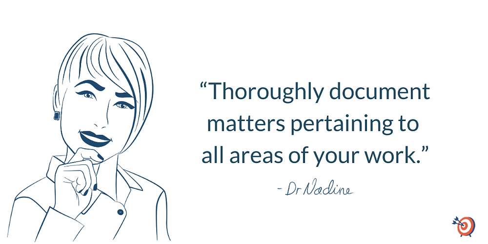 Get The Most For Your Future When Quitting A Job, quote by Dr Nadine Greiner PhD