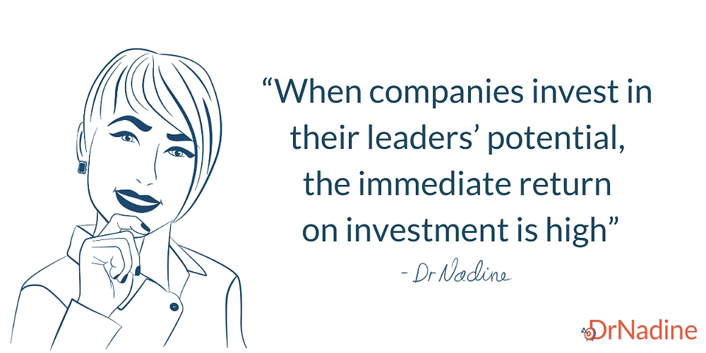 Benefits of executive coaching that will surprise you, quote by Dr Nadine Greiner PhD