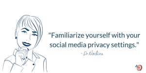 Use Social Media as a Powerful Career Building Tool, quote by Dr Nadine Greiner PhD