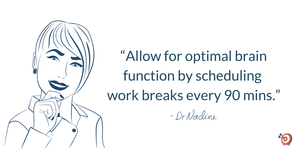 Effectively Manage Your Time With These 3 Tips, quote by Dr Nadine Greiner PhD