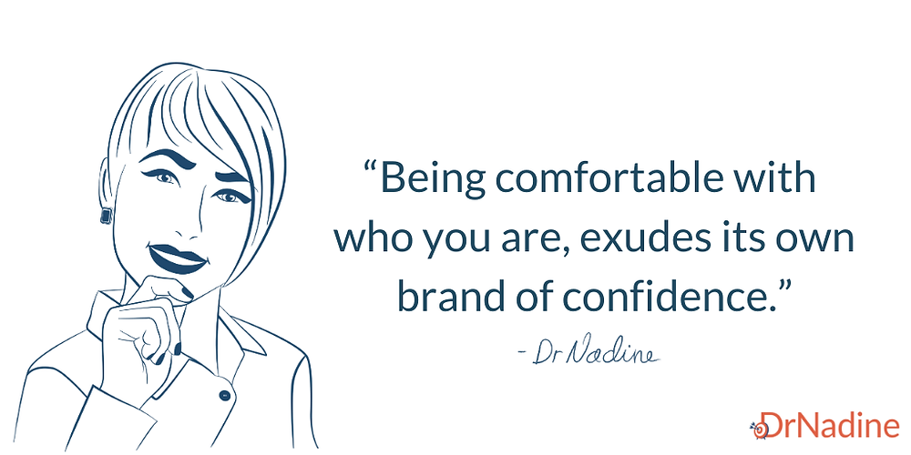 Bridging The Confidence Gap In The Workplace, quote by Dr Nadine Greiner PhD