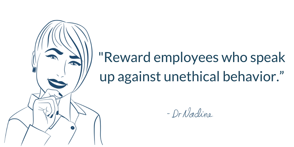 How To Create A Safe And Empowered Workplace, quote by Dr Nadine Greiner PhD