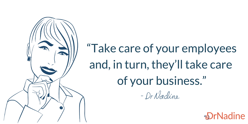 The Best Way To Develop Organizational Talent, quote by Dr Nadine Greiner PhD