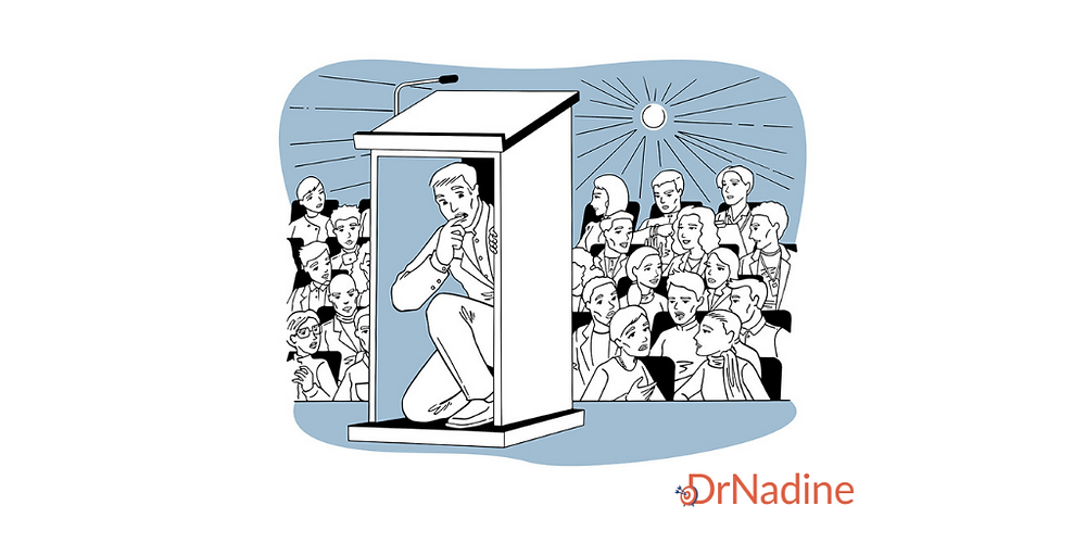 3 Ways to Overcome Presentation Anxiety and Captivate Your Audience, article by Dr. Nadine Greiner PhD, Executive Consultant San Francisco
