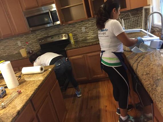 Residential Deep cleaning in Danbury, CT