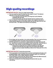 Dessau-Seidenberg_How to record high-qua