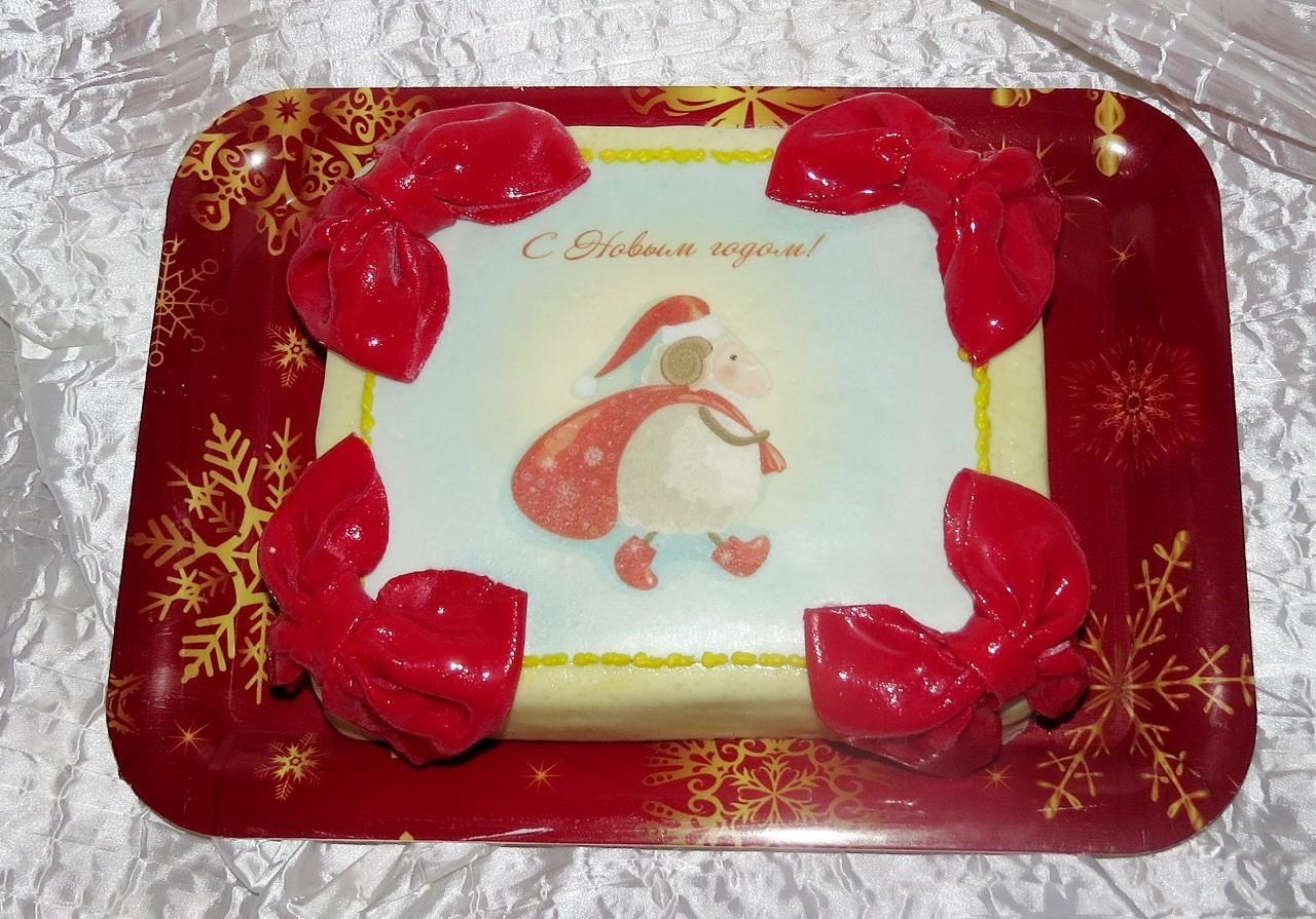 торт новый год (31)