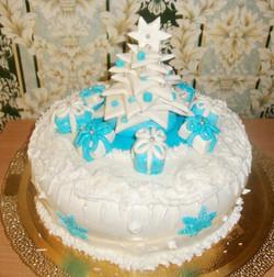 торт новый год (116)
