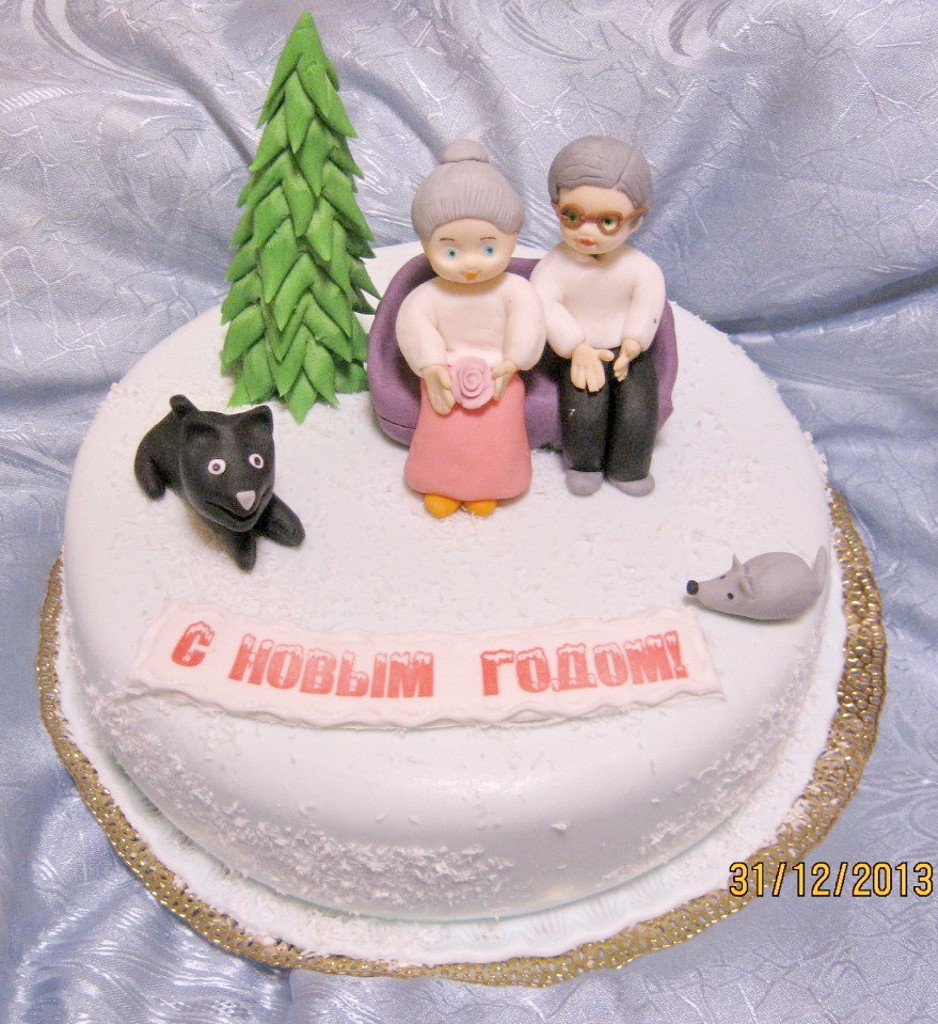 торт новый год (13)