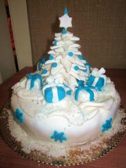 торт новый год (105)