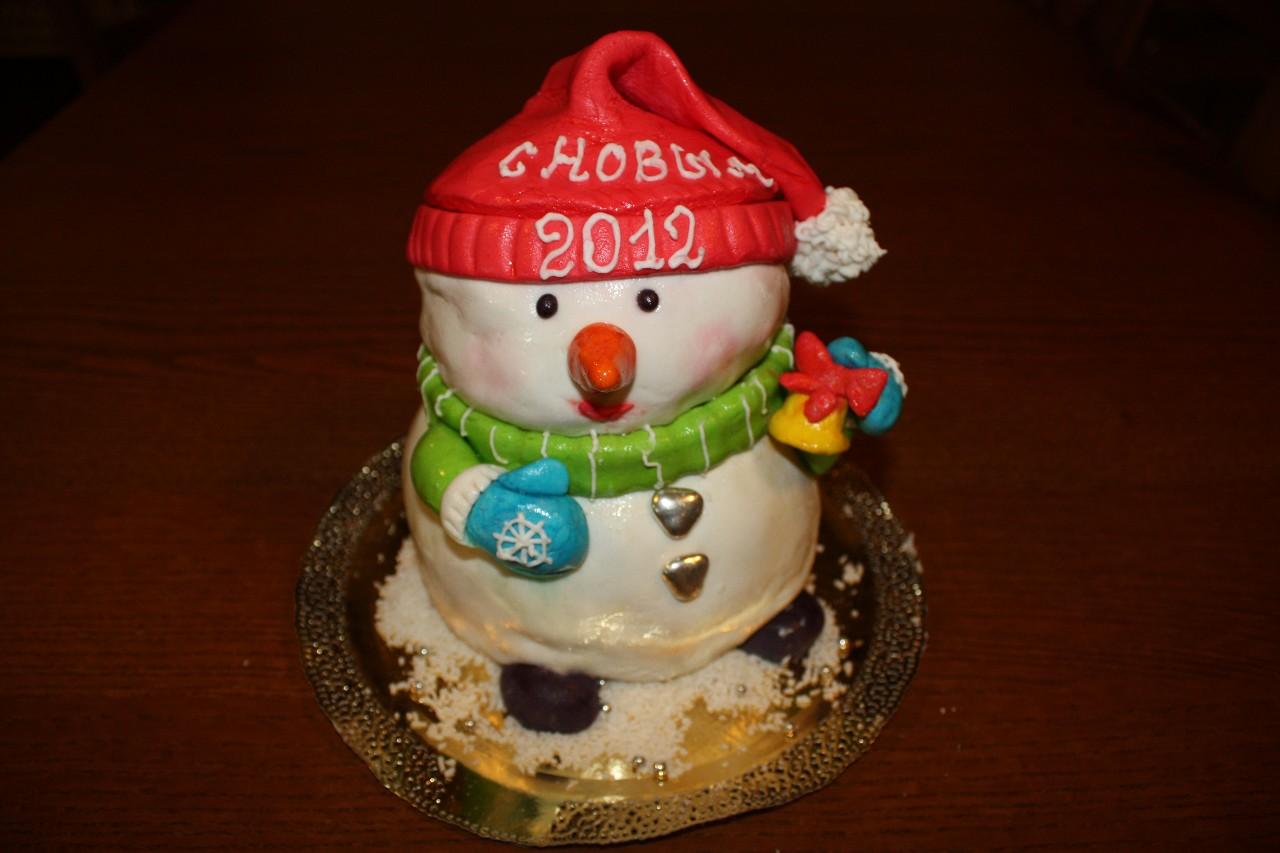 торт новый год (46)