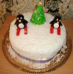 торт новый год (111)