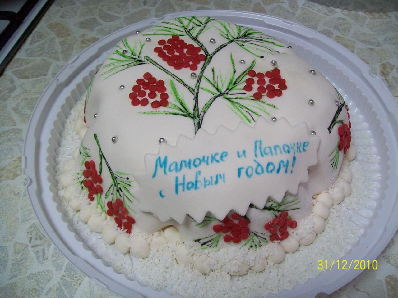 торт новый год (11)