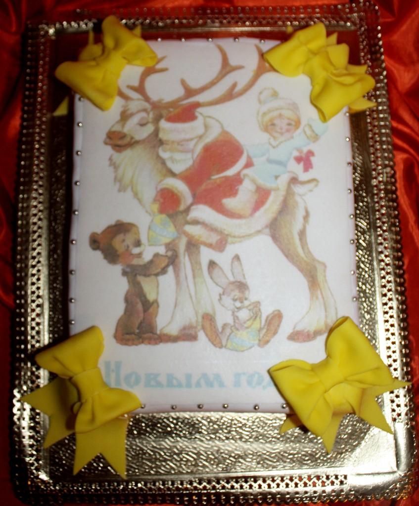 торт новый год (58)