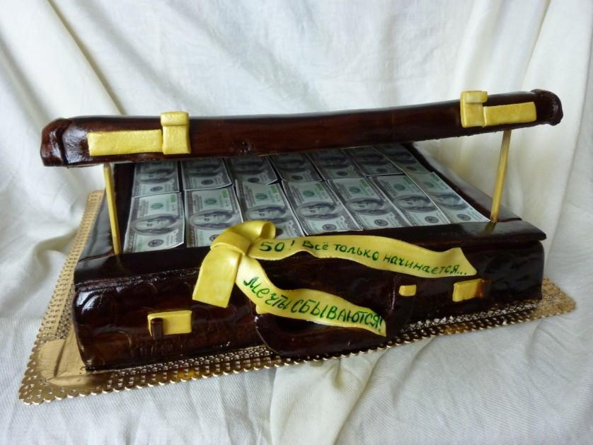 Торт деньги