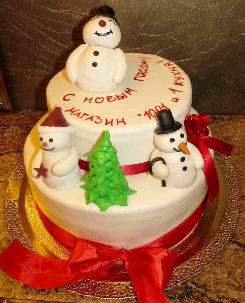 торт новый год (39)