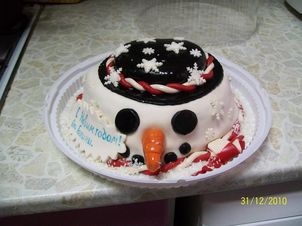 торт новый год (12)