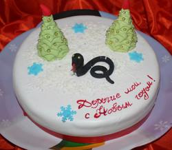 торт новый год (75)