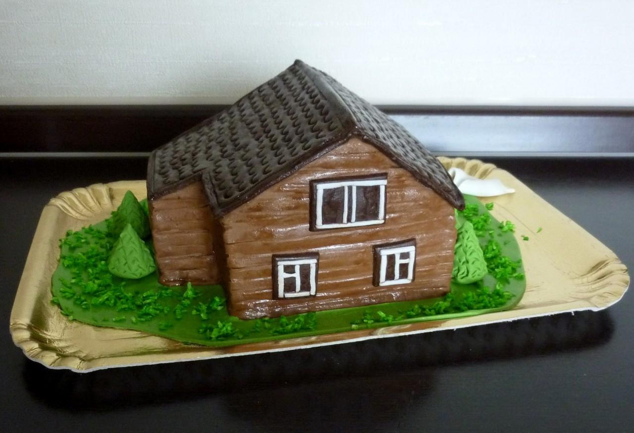 Торты дом, дача, новоселье