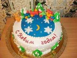 торт новый год (117)