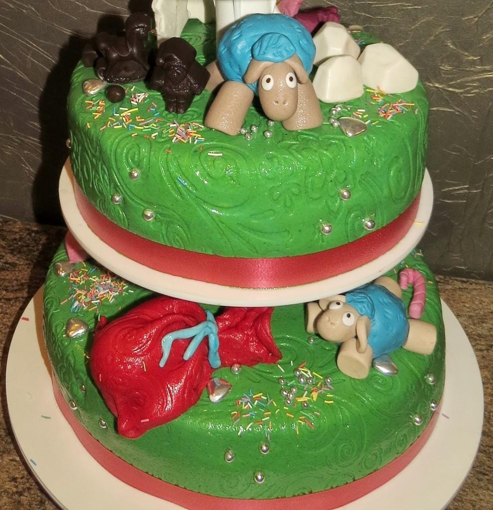 торт новый год (23)