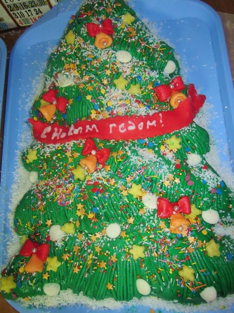 торт новый год (102)