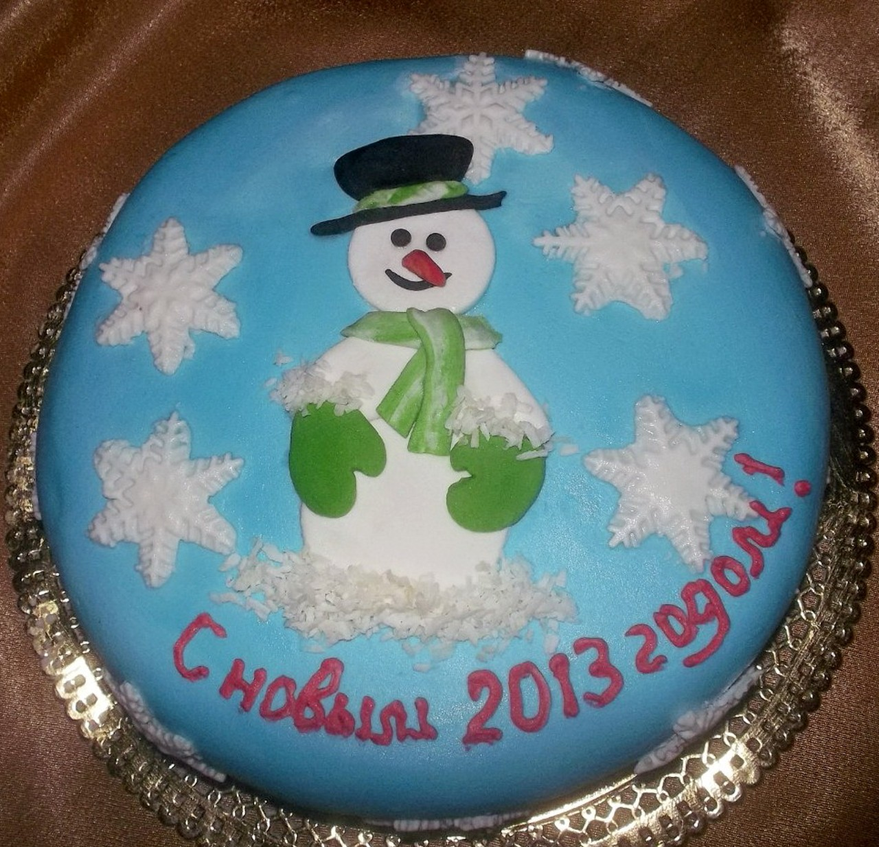 торт новый год (5)