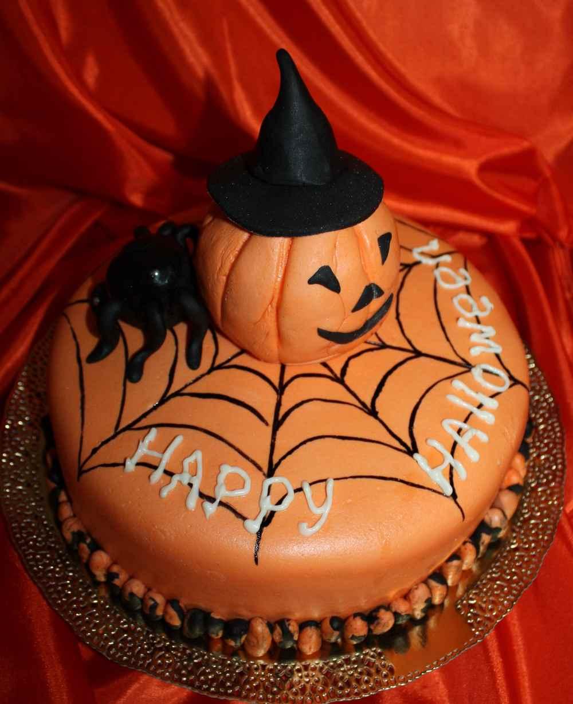 Торт на Хеллоуин