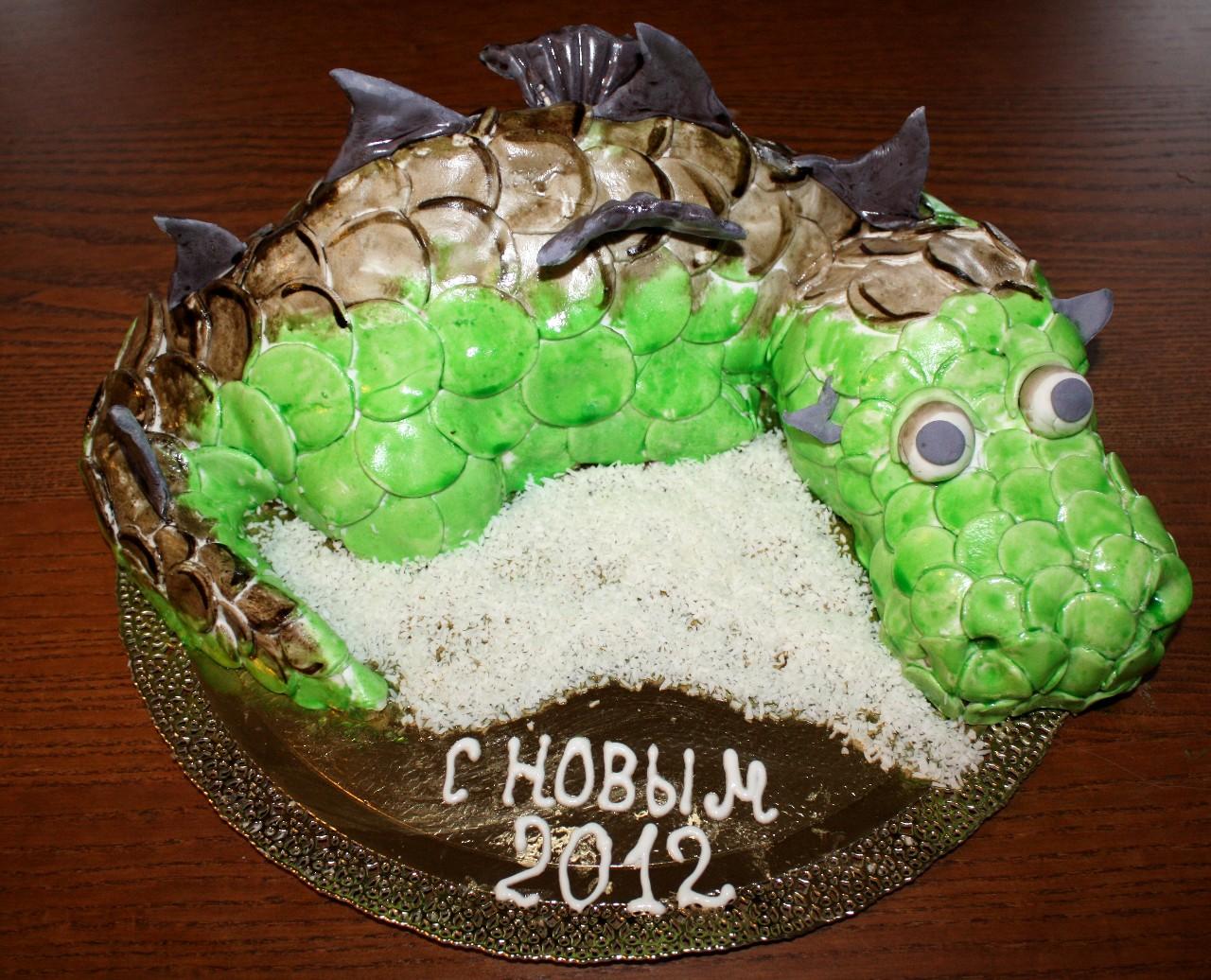 торт новый год (56)