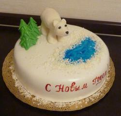 торт новый год (109)
