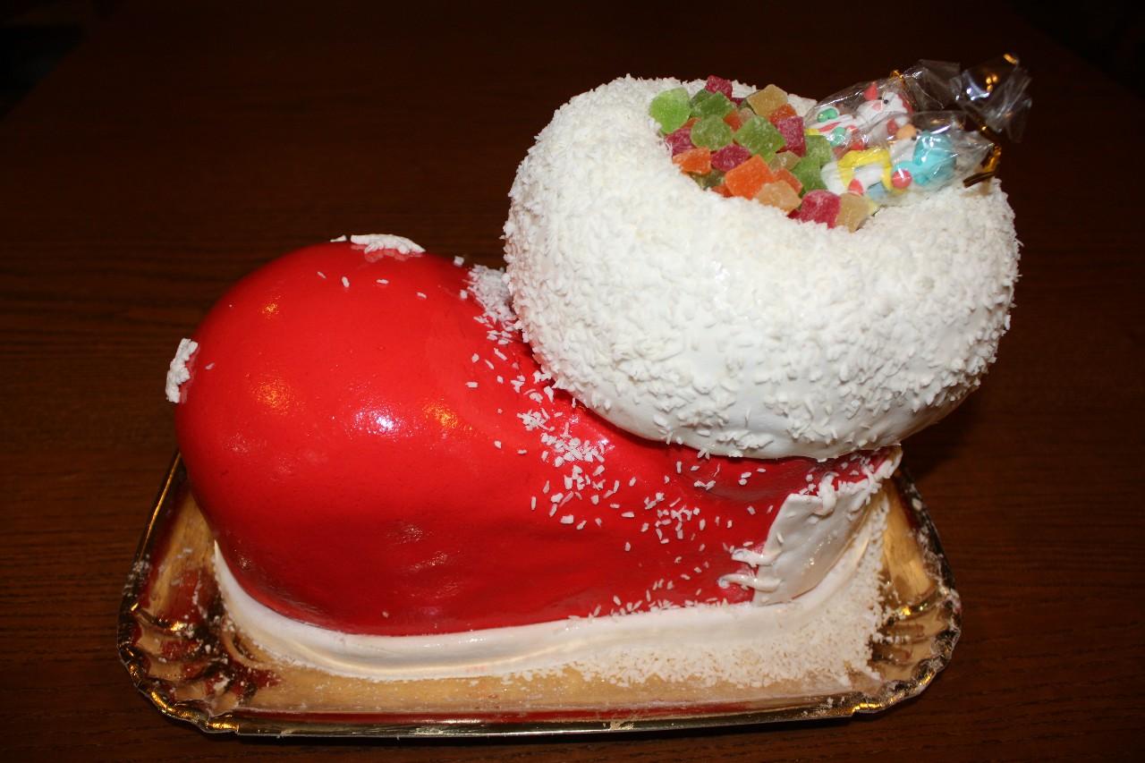 торт новый год (50)