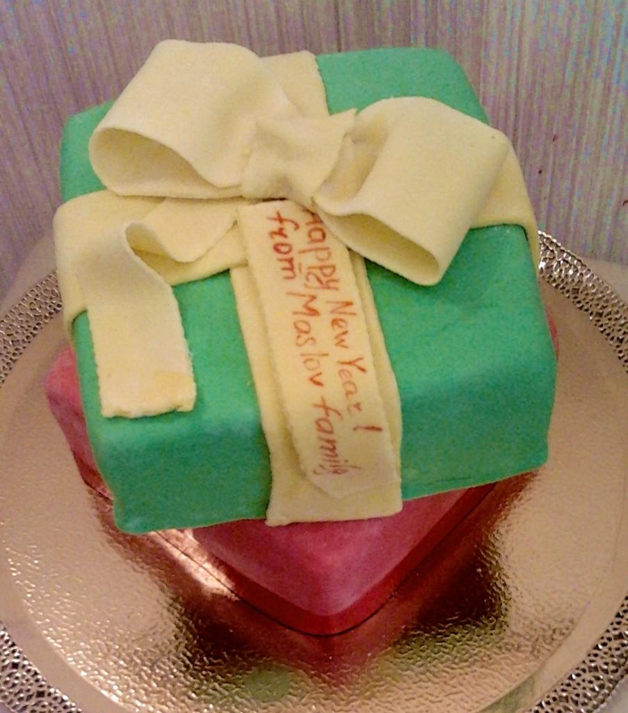 торт новый год (123)