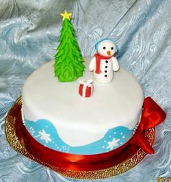 торт новый год (92)