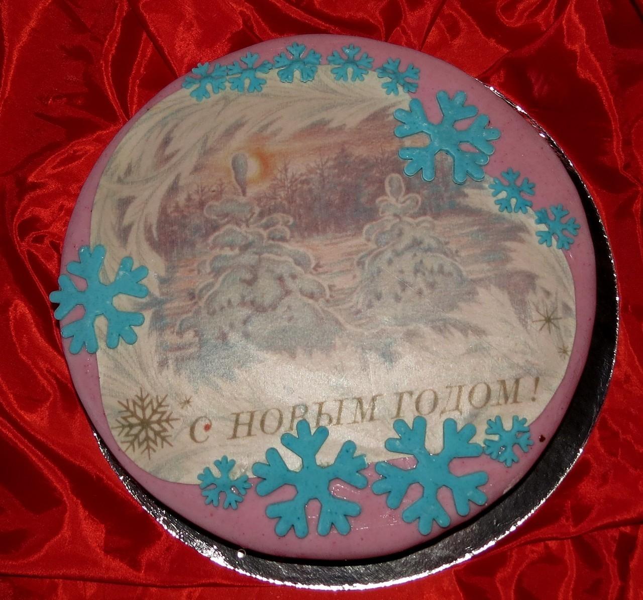 торт новый год (26)