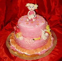 Торт девочкам