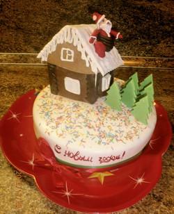 торт новый год (84)