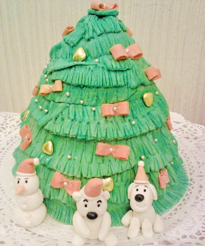 торт новый год (100)