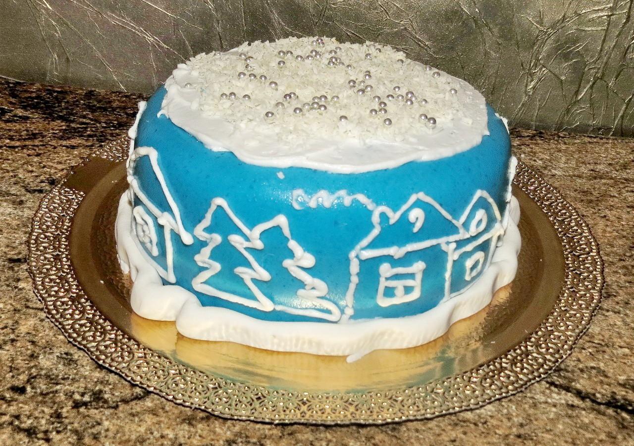 торт новый год (33)