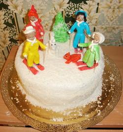 торт новый год (114)